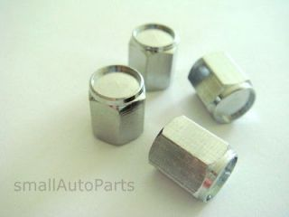 car truck atv *CHROME SILVER* tire wheel rims valve air stem CAPS