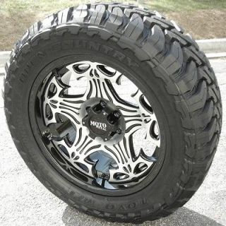 20 MOTOMETAL SKULL WHEELS TOYO OPEN COUNTRY MT CHEVY SILVERADO GMC
