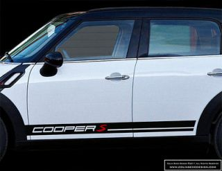 Newly listed Mini Countryman 4 COOPER/COOPER S Side Stripes