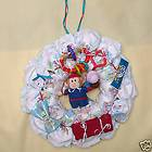 Door Wreath Baby Shower Nursery Decoration Diaper Cake