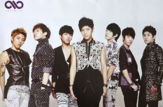 ALL DRESSED UP POSTER FROM ASIA   Korean Boy Band, K Pop Music