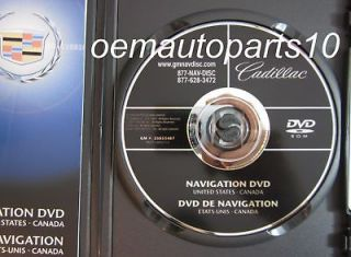 2009 2010 Cadillac Escalade Navigation Disk DVD Map Released © 9/2007