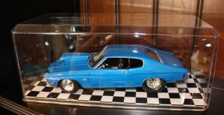 Display Case w/Checkered Floor for 118 Scale NASCAR Model Cars Trucks