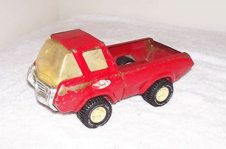 Tonka Toys Truck Stamped Metal Old Antique Pressed Tin Toy Pickup Ford