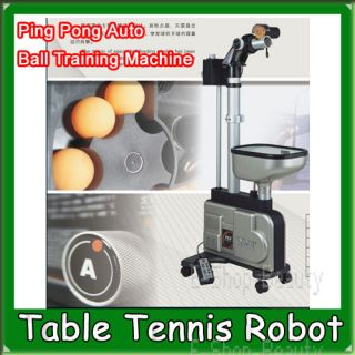 ping pong machines