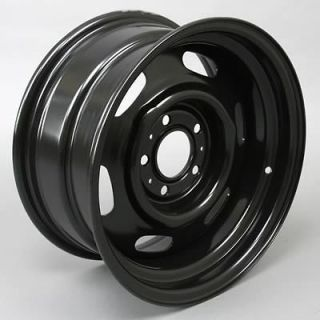 Wheel Vintiques 69 Series Chrysler Police Black Wheel 15x8 5x4.5 BC