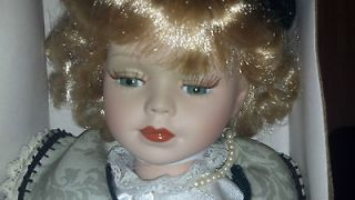 Fine Bisque Porcelain Doll *Collectible* Limited Edition *Beautifully