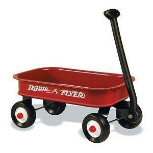 Radio Flyer Little Red Wagon Working Handle Dolls Toys Trucks Cars