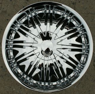 MIROR MR8 20 CHROME RIMS WHEELS CHRYSLER 300 300C AWD / 20 X 8.5 5H