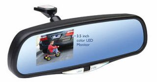 Rear View Monitor Mirror with Back up Camera