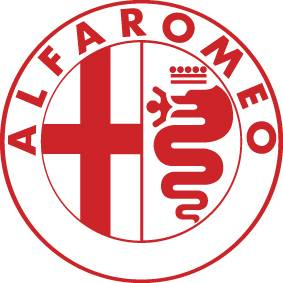 Window Car Vinyl Decals Stickers ALFA ROMEO 1 LOGO 6