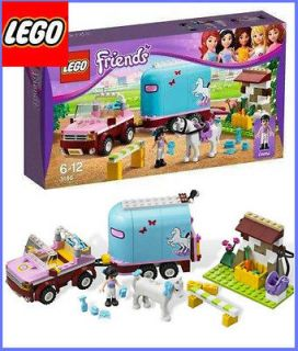 LEGO Friends 3186 Emma's Horse Trailer Girls Emma NEW box with