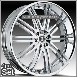 26inch Wheels Rims Chevy Escalade Ford Ram H3 Almada