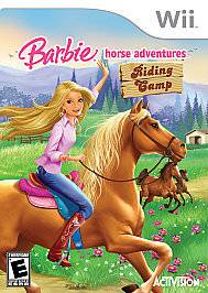 Barbie Horse Adventures Riding Camp (Wii, 2008)
