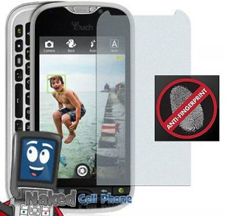 NEW 2 ANTI GLARE/FINGERPRINT LCD SCREEN PROTECTOR FOR TMOBILE MYTOUCH