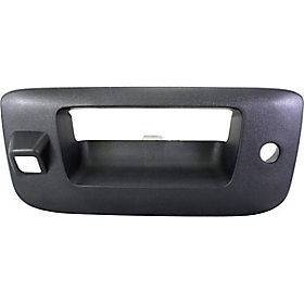 CHEVY SILVERADO PICKUP 09 12 TAILGATE HANDLE BEZEL, & Camera Hole, New