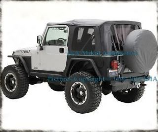 97 06 JEEP WRANGLER SOFT TOP TINTED WINDOWS