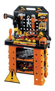 Childrens Kids Tool Kit ELECTRIC Drill Toy Work Bench Play Set 9547WS