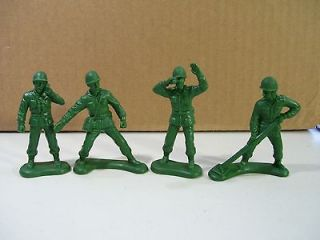 LOT OF 4 DISNEY TOY STORY ARMY MEN PVC FIGURES CAKE TOPPER BURGER KING