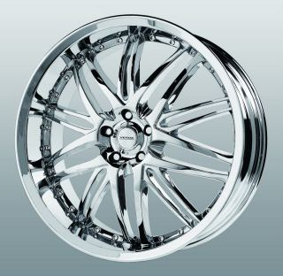 18 inch Verde Kaos Chrome Wheels Rims 5x115 Prestige Torrent VUE XL 7