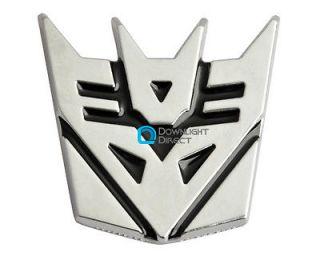 Transformer Decepticon Logo Car Racing Decals Emblem Badge Sticker