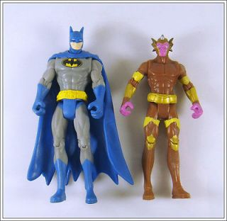 2pcs DC Universe Qwardian Weapon & Batman 3.75 Super Hero Figures