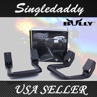 NEW 2PC SET Bully Black Truck Side Step Bar Sierra Silverado F150 F250