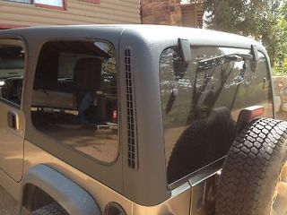 1997 2006 OEM Factory Jeep TJ Wrangler Black Hard Top Local Pick Up