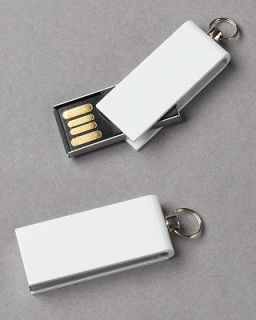 Premium Mini White Swivel USB Flash Memory Drive(Stick/Pen/Thumb) 32GB
