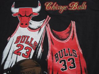 1992 vintage CHICAGO BULLS michael jordan jersey T SHIRT YOUTH XL