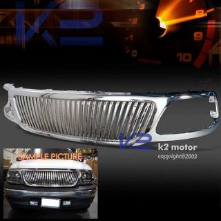 2003 FORD F150 F 150 CHROME VERTICAL GRILL GRILLE (Fits Ford F 150