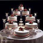 TIER WEDDING CAKE STAND STANDS / 8 TIER CANDLE STANDS