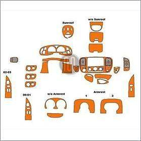MUST SEE    MIMOUSA WOOD INTERIOR DASH TRIM KIT   BENZENE FREE CO