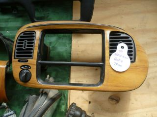 99 EXPEDITION DASH BEZEL TRIM WOOD GRAIN