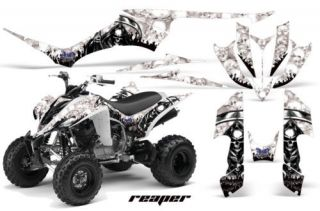 AMR RACING QUAD GRAPHIC YAMAHA RAPTOR 350 STICKER KIT T