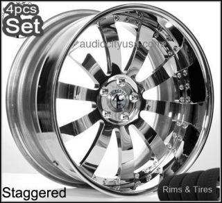 20 AC Forged Wheels and tires PKG for Lexus Altima Impala Honda