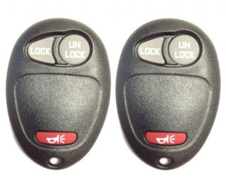 RED HUMMER ISUZU GM GMC CHEVY REPLACEMENT KEYLESS ENTRY KEY REMOTE FOB