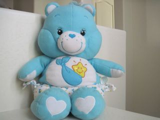 28 Giant Big Care Bears ~ Baby Hugs Bear Wears Diaper Plush Stuffed