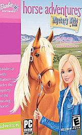 Barbie Horse Adventures Mystery Ride PC, 2001