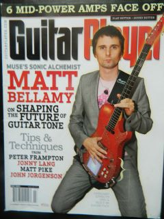 Guitar Player Magazine July 2010   Matt Bellamy Sect B