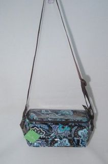 VERA BRADLEY Java Blue Cooler Lunch Bag Box Baby Insulated NEW NWT