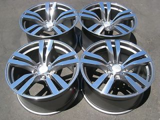 20 BMW X5 STYLE WHEELS BMW X6 STAGGERED SET UP RIMS 22 19 18 17