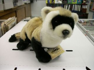 WEBKINZ SIGNATURE BLACK FOOTED FERRET VIRTUAL PET NEW