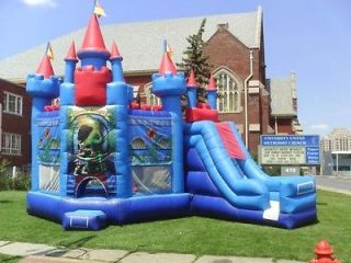 Inflatable Bounce House Moonwalk Slide Castle Jumper Bouncer clsb