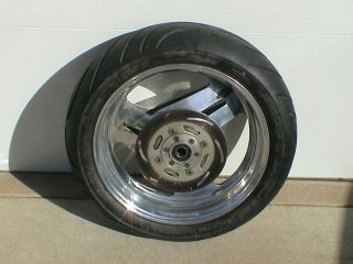 Buell PM Performance Machine Spun Aluminum 17x5.5 Rear Wheel w/Avon