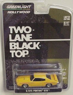 Hollywood series # 3 Greenlight Movie Two Lane Black Top G.T.OS