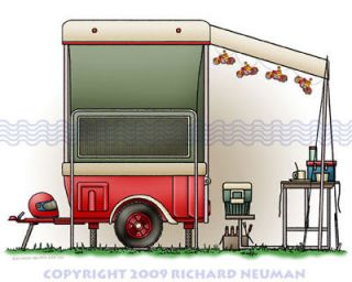 Motorcycle camper trailer in Other Vehicles & Trailers