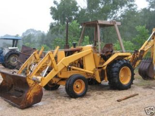 Case 580 E & Super E 580SE Tractor Loader Backhoe Shop Service Repair