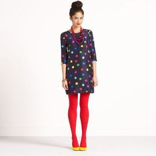 NWT Kate Spade Belina Polka Dot Silk Dress  Size 2