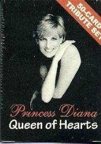 FACTORY SEALED SET OF PRINCESS DIANA TRADING CARDS TRIBUTE